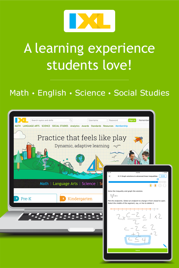 IXL Math | Learn math online