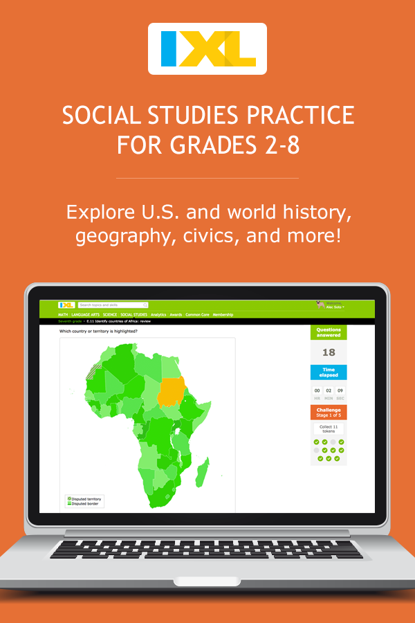 IXL - Sixth grade social studies practice
