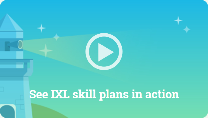 See IXL skill plans in action