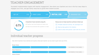 Boost teacher engagement