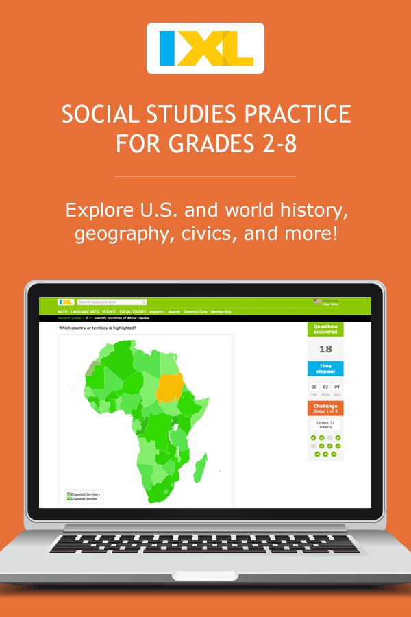 IXL Social Studies | Learn social studies online