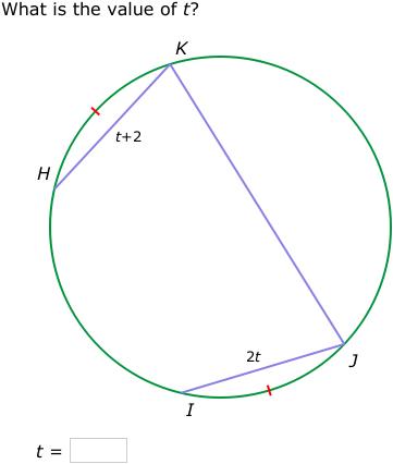 Ixl Arcs And Chords Geometry Practice