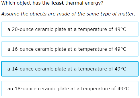 how to find mass from thermal energy