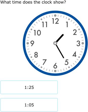 Ixl Match Analog Clocks And Times 2nd Grade Math Practice
