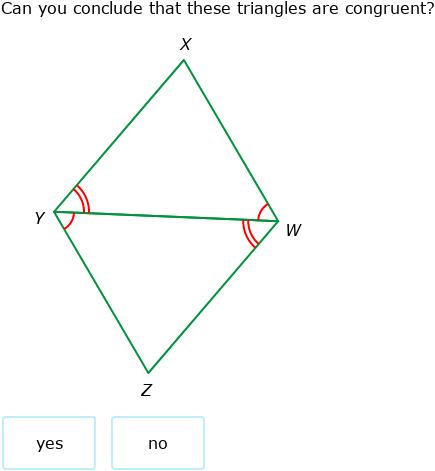 IXL - SSS, SAS, ASA, and AAS Theorems (Geometry practice)