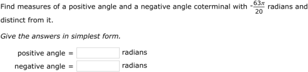 IXL - Coterminal and reference angles (Precalculus practice)