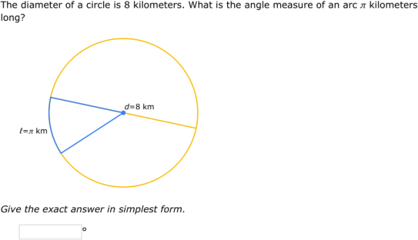 IXL Arc measure and arc length Geometry practice – Central Angle Worksheet