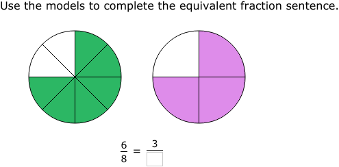 Ixl Find Equivalent Fractions Using Area Models 4th Grade Math