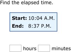 elapsed time word problems grade 5 pdf