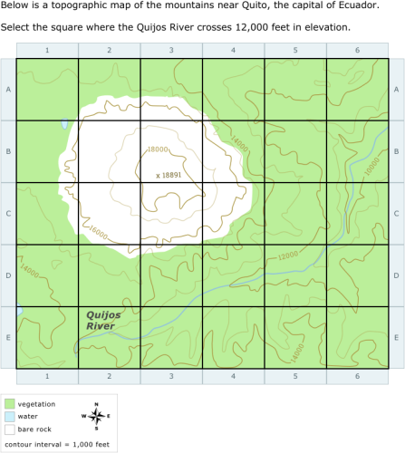 Topographic Map Games.Ixl Select Parts Of A Topographic Map 8th Grade Science