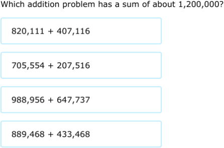Estimating Addition And Subtraction Worksheets & math contest ...