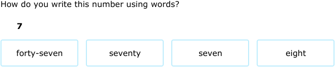 Ixl choose word names for numbers up to one thousand 4th grade math c5 publicscrutiny Image collections