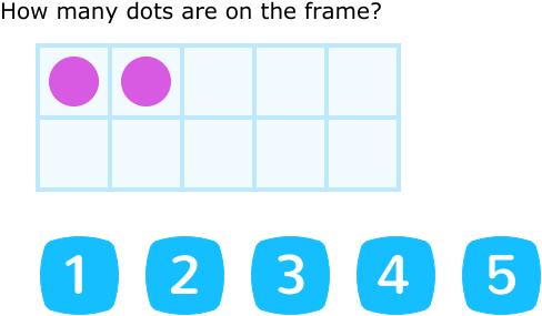 IXL | Count on ten frames - up to 10 | Kindergarten math