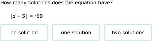 IXL - Solve absolute value equations (Algebra 1 practice)