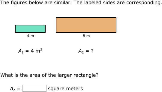 Ixl Area And Perimeter Of Similar Figures Geometry Practice