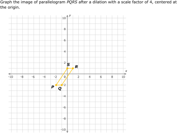 IXL Dilations graph the image 8th grade math practice – Dilations Practice Worksheet