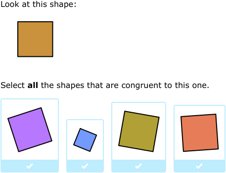 Ixl Similar And Congruent Figures 6th Grade Math
