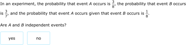 IXL Independence and conditional probability Precalculus practice – Independent Events Worksheet