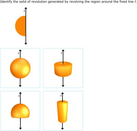 IXL - Solids of revolution (Geometry practice)