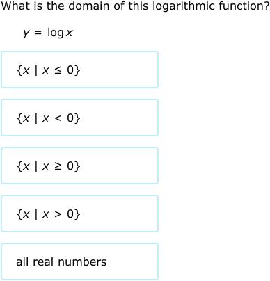 IXL - Domain and range (Precalculus practice)