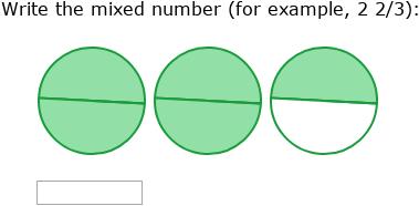 IXL   Mixed number review   4th grade math