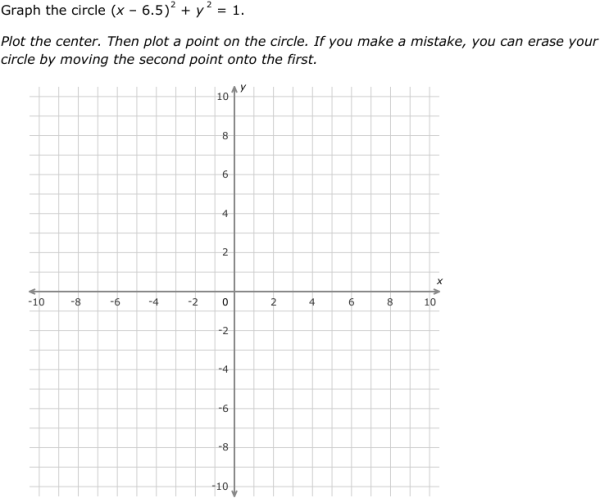 IXL Graph circles Algebra 2 practice – Graphing Circles Worksheet