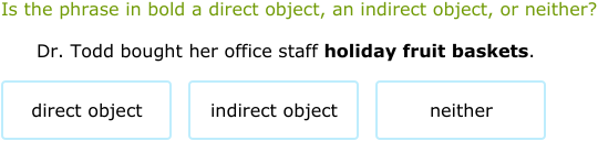 IXL Is it a direct object or an indirect object 7th grade – Direct Object Worksheets