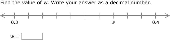 IXL Decimal number lines 4th grade math practice – Decimal Number Lines Worksheet