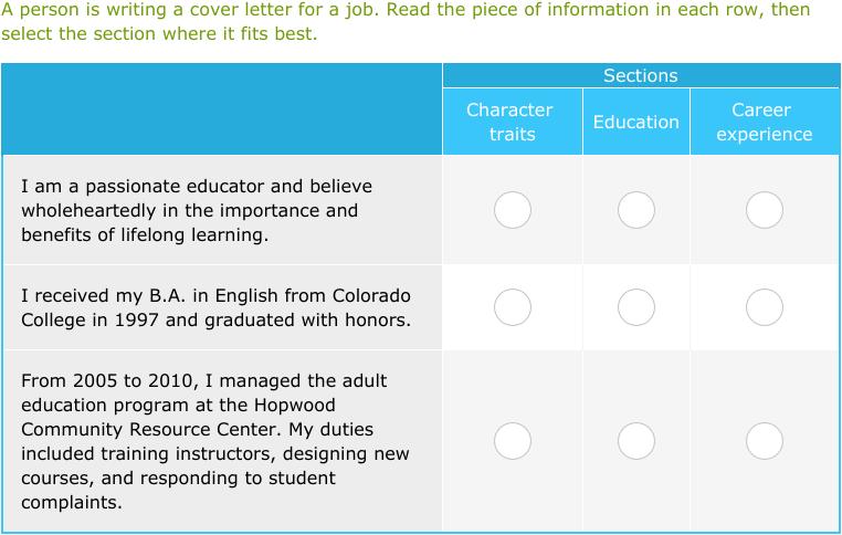 IXL | Determine the main idea | 9th grade language arts