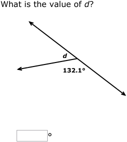 how to find the measure of vertical angles