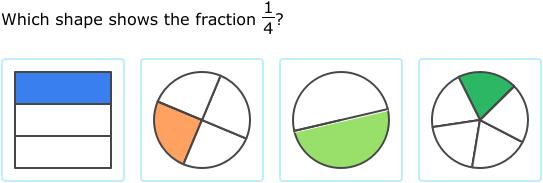 ixl halves thirds and fourths 2nd grade math