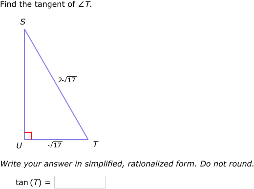 IXL - Trigonometric ratios: sin, cos, and tan (Geometry practice)
