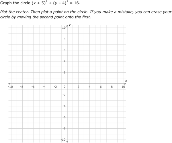 Worksheets Graphing Circles Worksheet ixl graph circles geometry practice