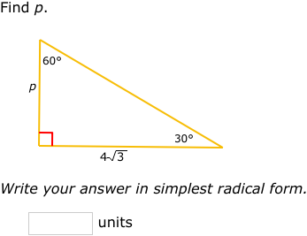 Ixl Special Right Triangles Geometry Practice