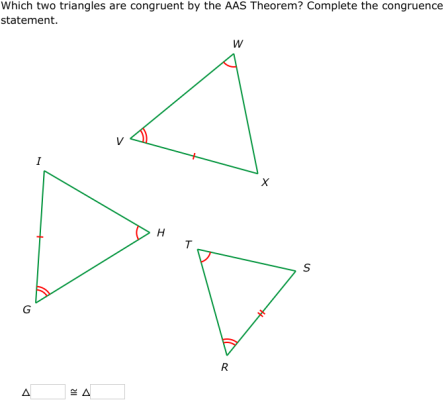 IXL - SSS, SAS, ASA, and AAS Theorems (Geometry practice)