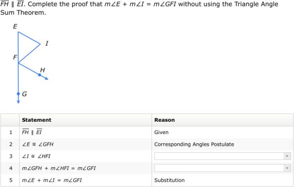 IXL - Proofs involving triangles I (Geometry practice)