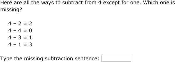 math worksheet : ixl  ways to subtract from a number  subtraction sentences 1st  : Subtraction Sentences