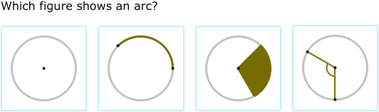 IXL - Parts of a circle (Geometry practice)