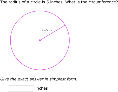 Ixl Area And Circumference Of Circles Geometry Practice