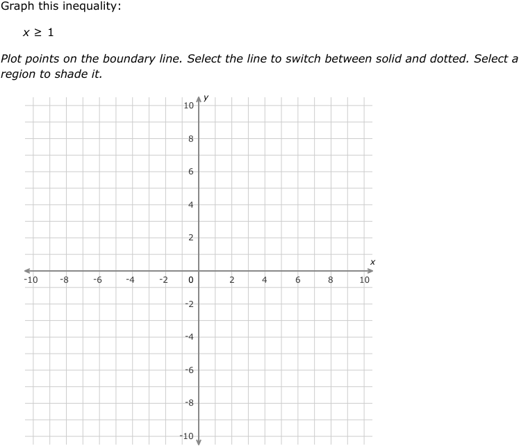 IXL - Graph a two-variable linear inequality (Algebra 2 practice)