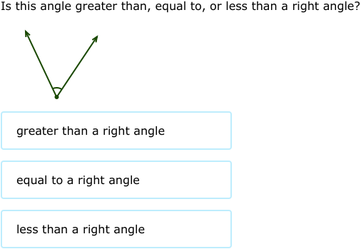 Ixl Angles Greater Than Less Or Equal To A Right Angle. Ixl Angles Greater Than Less Or Equal To A Right Angle 3rd Grade Math. Worksheet. Identifying Right Angles Worksheet Year 2 At Clickcart.co