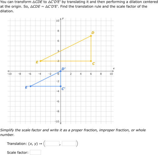 IXL Similar triangles and similarity transformations Geometry – Geometry Dilations Worksheet