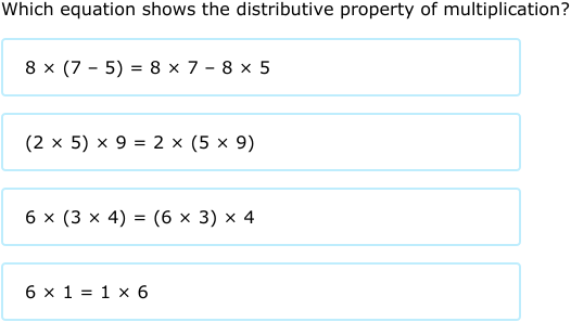 IXL - Properties of multiplication (3rd grade math practice)