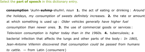 Parts Of A Dictionary Entry Zrom