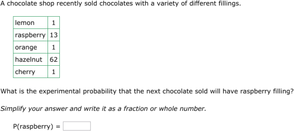 IXL Theoretical and experimental probability Geometry practice – Experimental Probability Worksheets