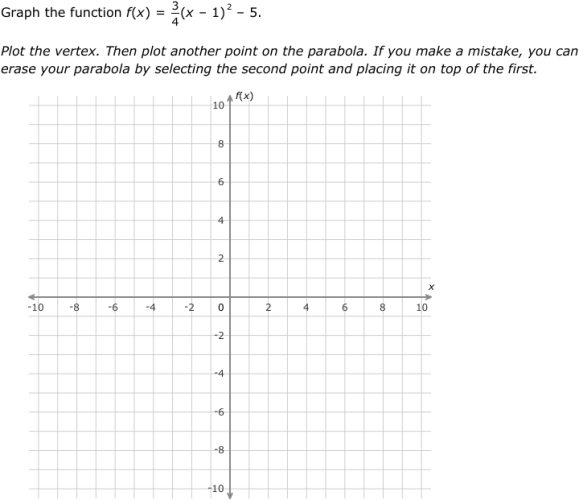 Ixl Graph Quadratic Functions In Vertex Form Algebra 1 Practice