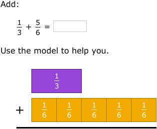 Ixl add fractions with unlike denominators using models 5th ixl add fractions with unlike denominators using models 5th grade math practice ccuart Gallery