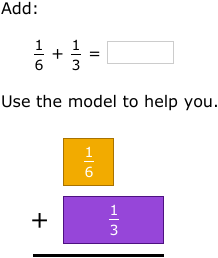 Ixl add fractions with unlike denominators 5th grade math practice l6add fractions with unlike denominators using models l6 ccuart Gallery