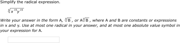 IXL Simplify radical expressions with variables Precalculus – Simplifying Radical Expressions Worksheet with Answers