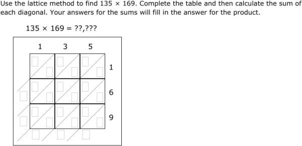 ixl lattice multiplication 5th grade math. Black Bedroom Furniture Sets. Home Design Ideas